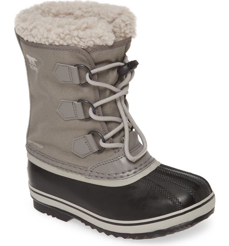 SOREL Yoot Pac Waterproof Snow Boot, Main, color, 030