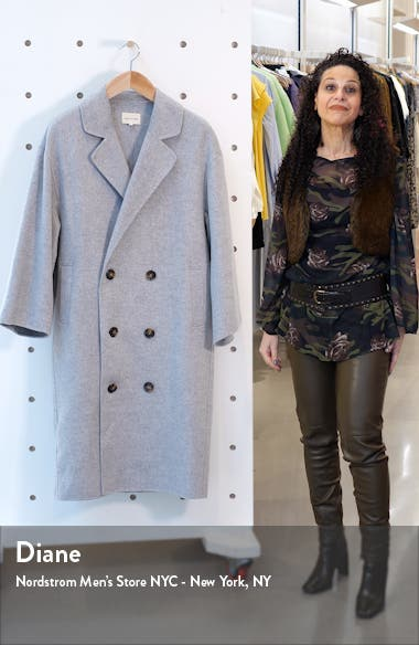 Double Breasted Wool & Cashmere Coat, sales video thumbnail