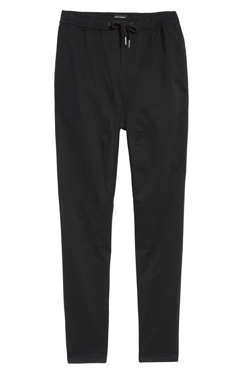 ZANEROBE Salerno Slim Fit Stretch Woven Jogger Pants, Main, color, Black