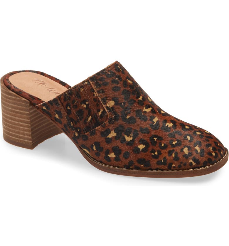 MADEWELL The Carey Mule, Main, color, RICH BROWN MULTI