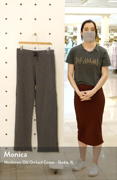 Reservoir Organic Cotton Blend Lounge Pants, sales video thumbnail