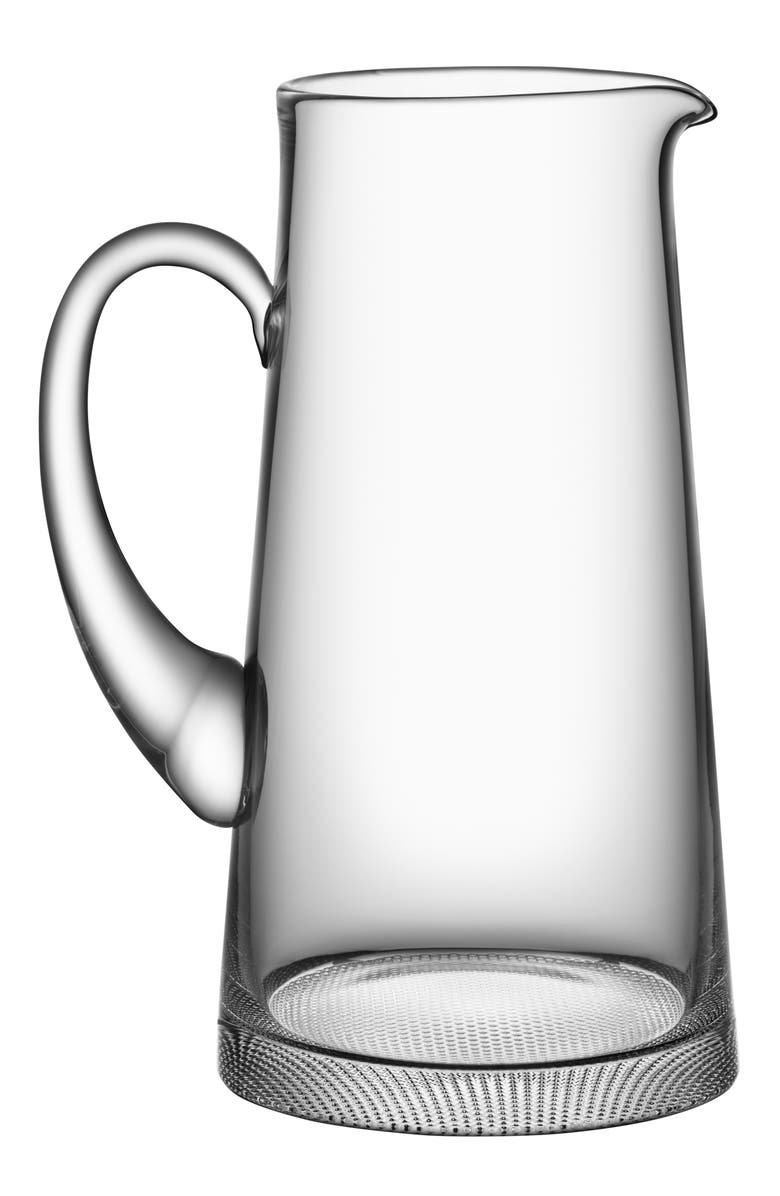 ORREFORS Limelight Lead Crystal Pitcher, Main, color, 100