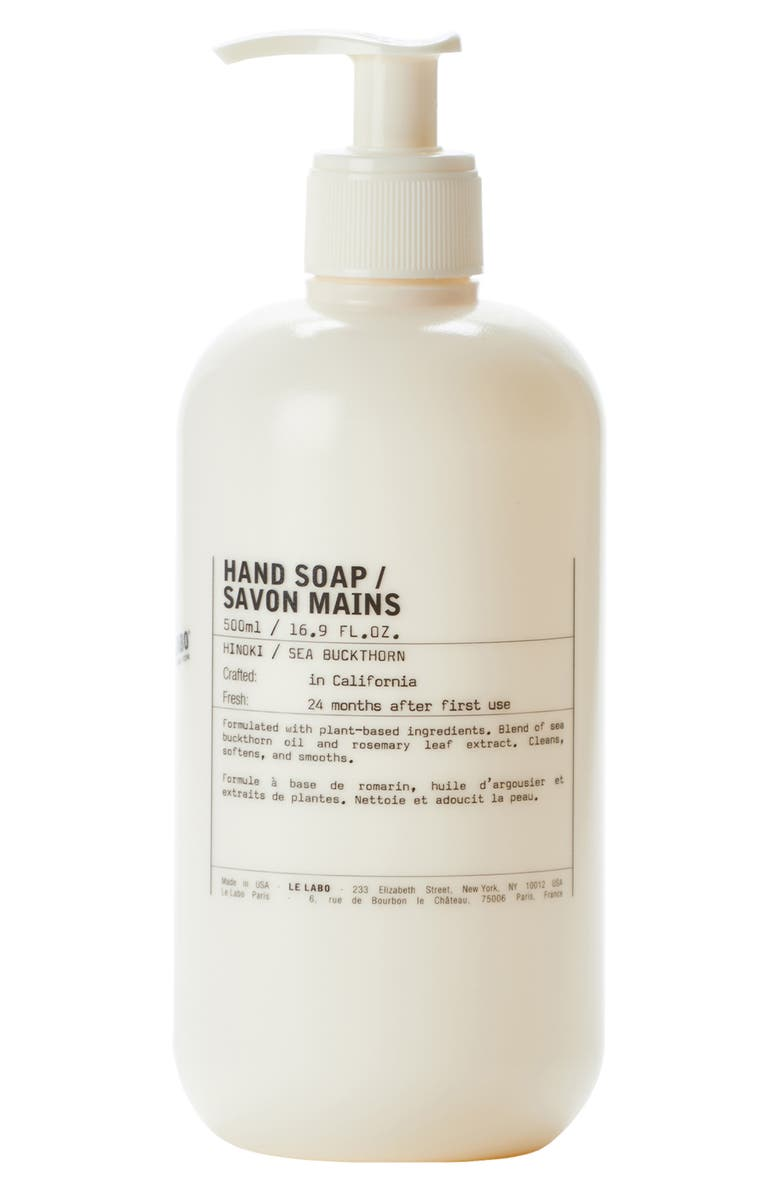 LE LABO Jumbo Hinoki Hand Soap, Main, color, 000