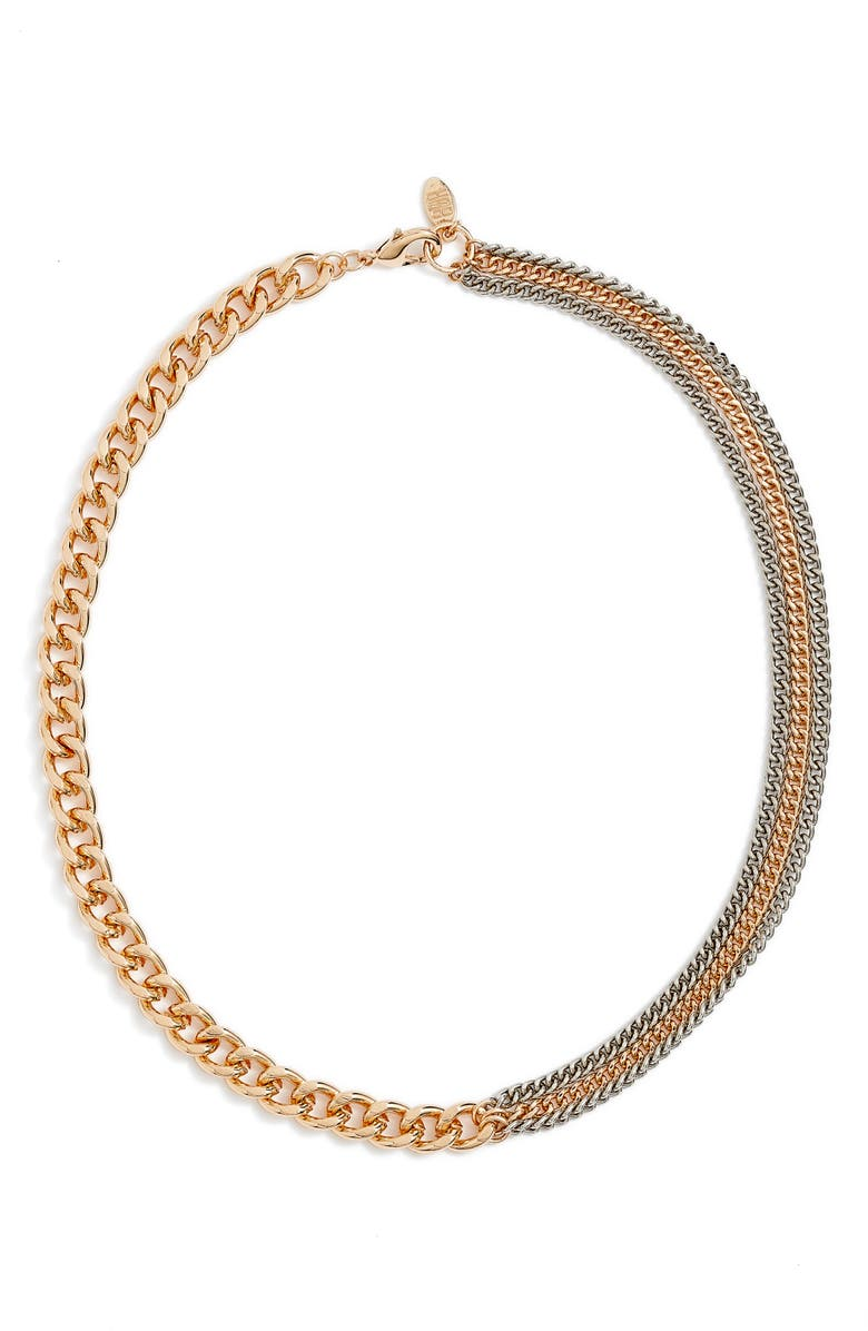 8 OTHER REASONS CUBAN LINK CHAIN, Main, color, TWO TONE