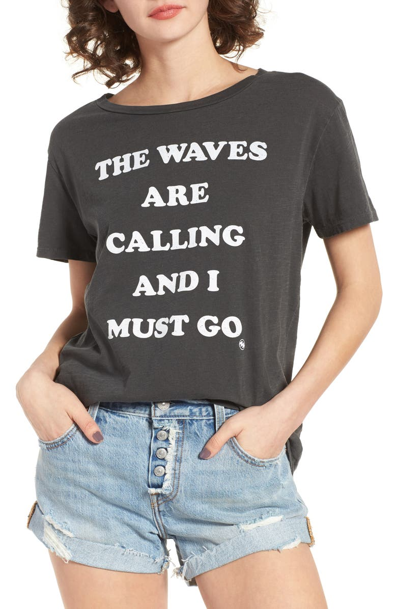 BILLABONG Must Go Graphic Tee, Main, color, OFF BLACK