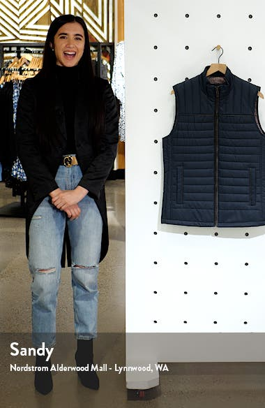 Quilted Twill Vest, sales video thumbnail