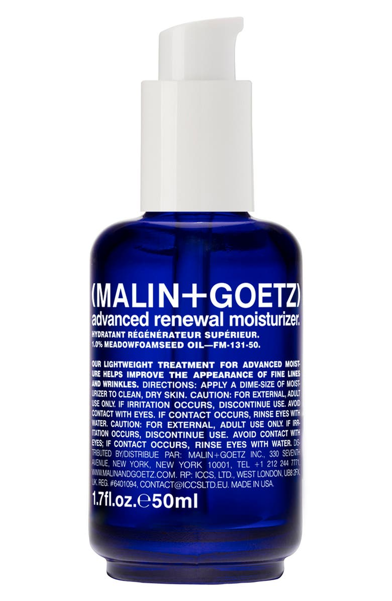 MALIN+GOETZ Advanced Renewal Moisturizer, Main, color, NO COLOR