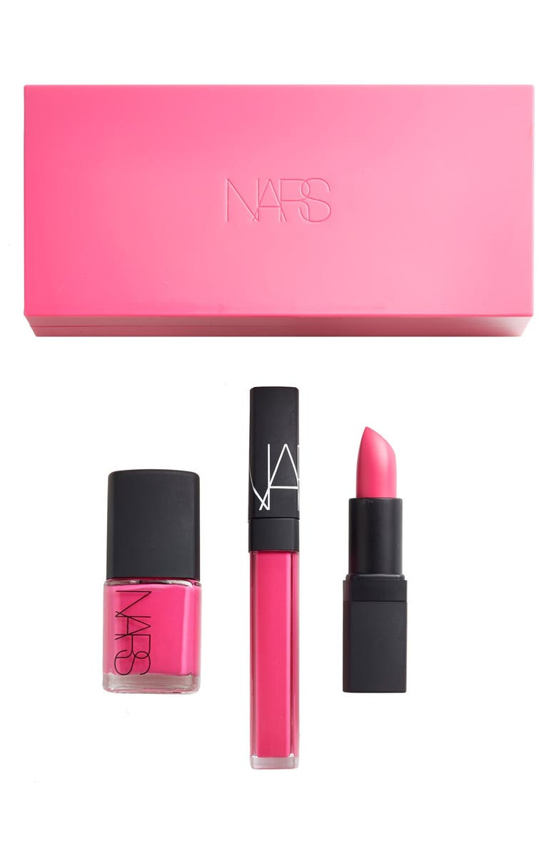 NARS 'Schiap' Lip & Nail Set, Main, color, 650