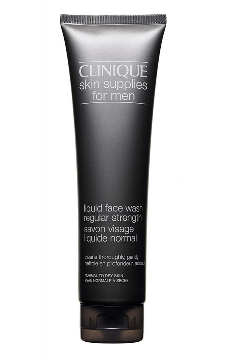 Clinique Skin Supplies For Men Liquid Face Wash Regular Strength Nordstrom