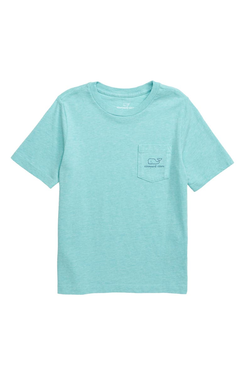VINEYARD VINES Heathered Vintage Whale Pocket T-Shirt, Main, color, 430