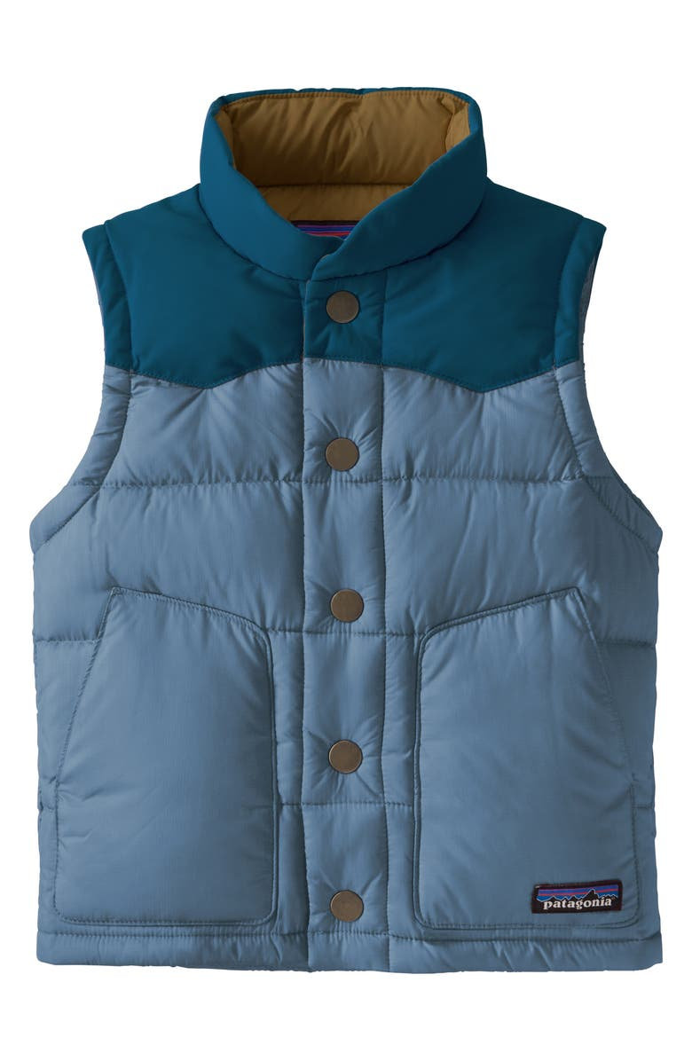 PATAGONIA Kids' Baby Bivy 700 Fill Power Down Vest, Main, color, 400