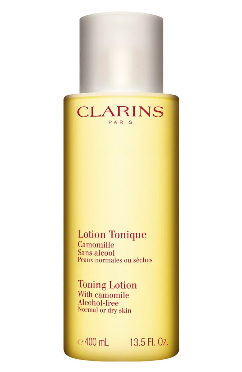 CLARINS Toning Lotion for Dry/Normal Skin, Main, color, 000