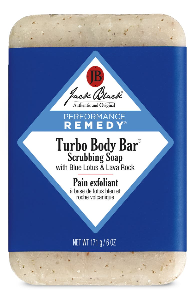 JACK BLACK Turbo Body Bar Scrubbing Soap, Main, color, No Color