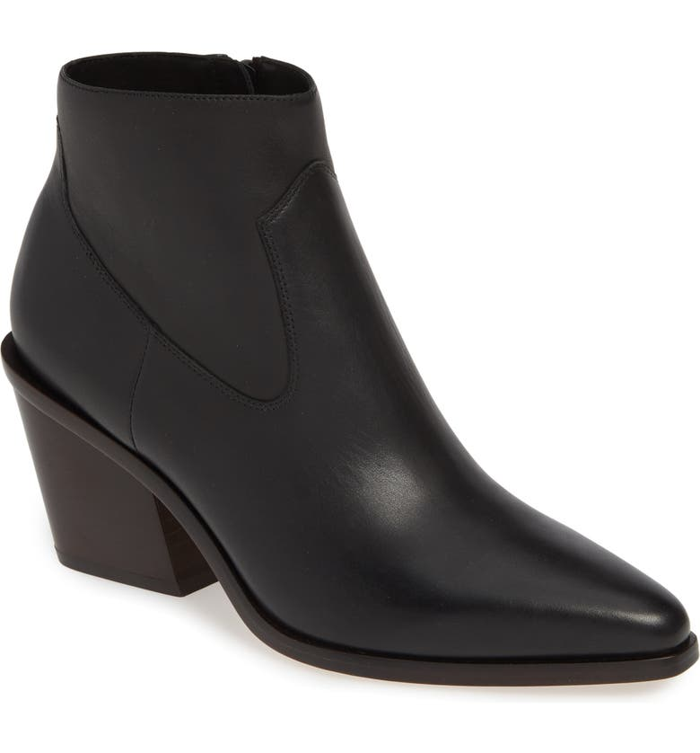 RAG & BONE Razor Western Bootie, Main, color, 001