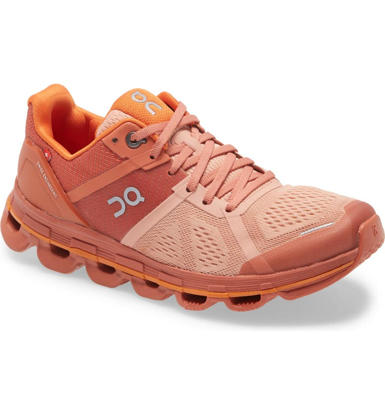 ON Cloudace Running Shoe, Main, color, BLUSH/ ORANGE