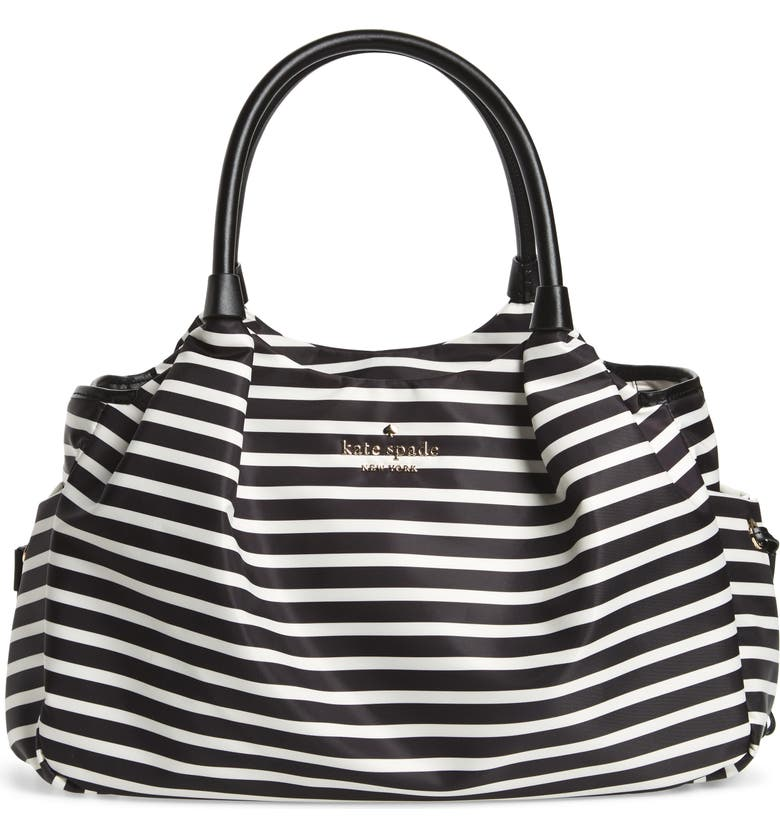 KATE SPADE NEW YORK watson lane - stevie diaper bag, Main, color, 002
