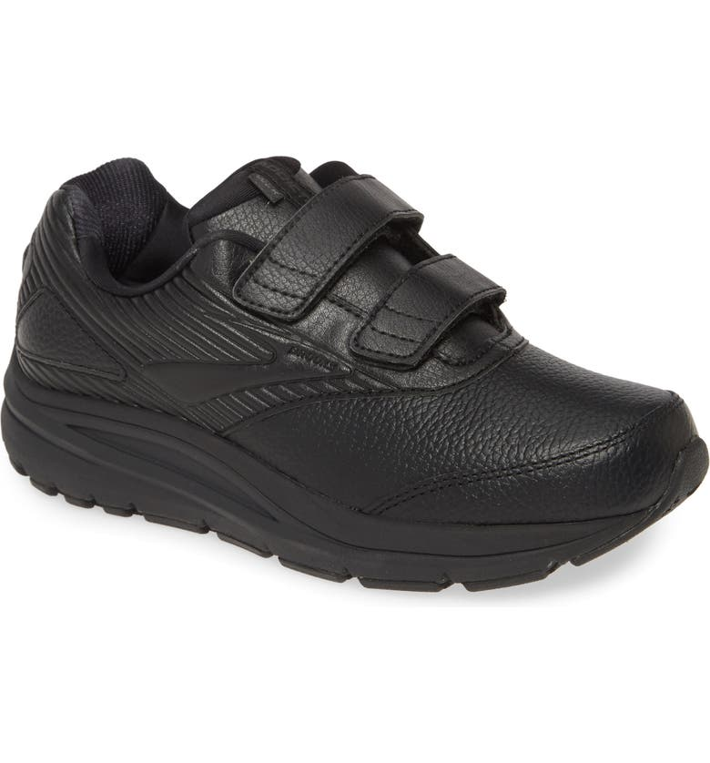 BROOKS Addiction V-Strap 2 Walking Shoe, Main, color, BLACK/ BLACK