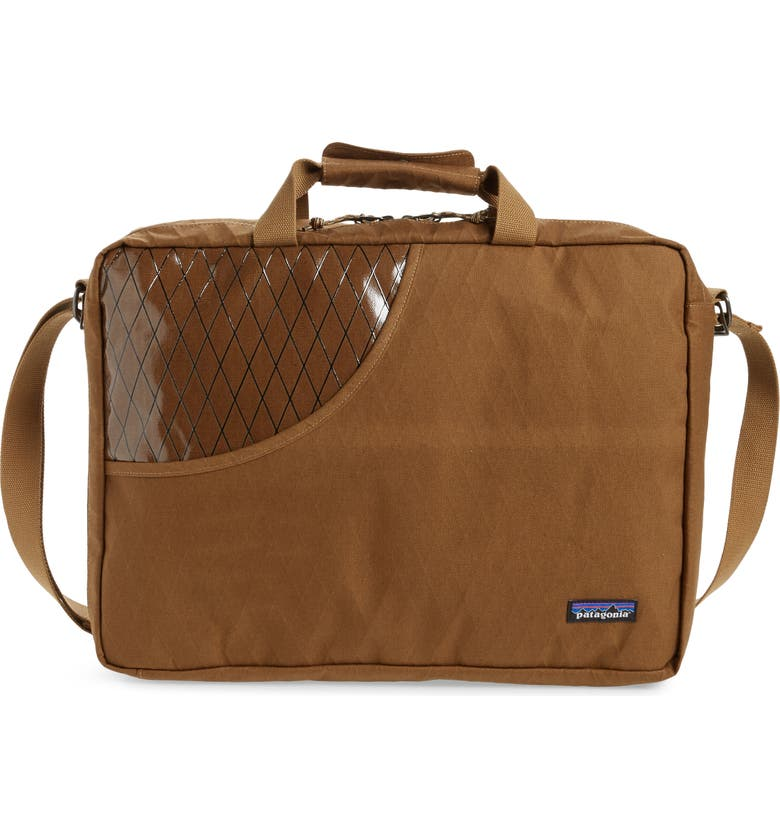 PATAGONIA Stand Up Convertible Briefcase, Main, color, CORIANDER BROWN