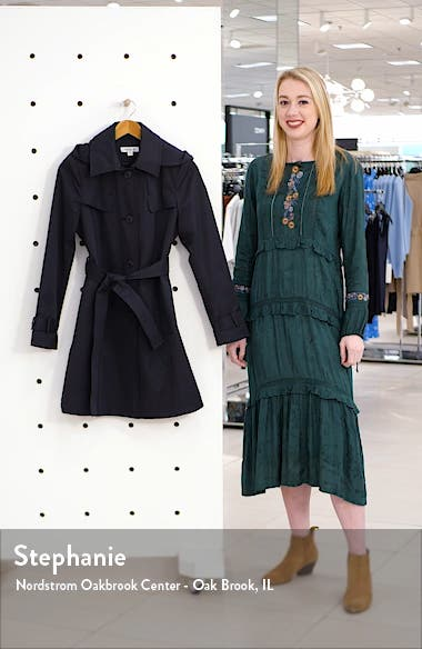 Belted Water Repellent Trench Coat, sales video thumbnail