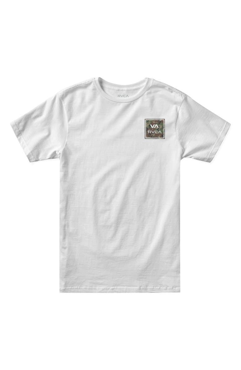 RVCA Kids' All the Way Graphic Tee, Main, color, 100