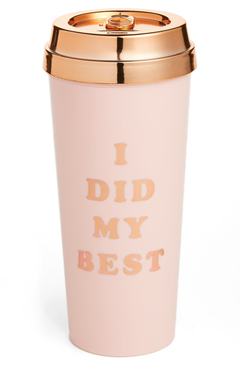 BAN.DO I Did My Best Deluxe Thermal Travel Mug, Main, color, 680