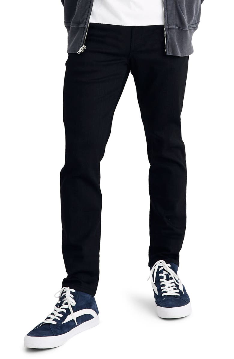 MADEWELL Athletic Slim Fit Jeans, Main, color, 001