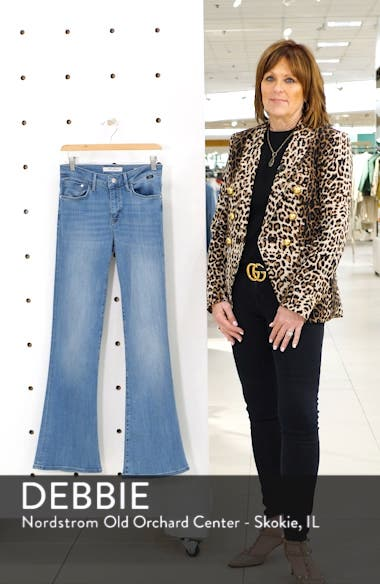 Sydney Brushed Flared Leg Jeans, sales video thumbnail