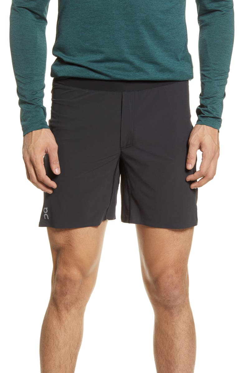 ON Running Shorts, Main, color, Black