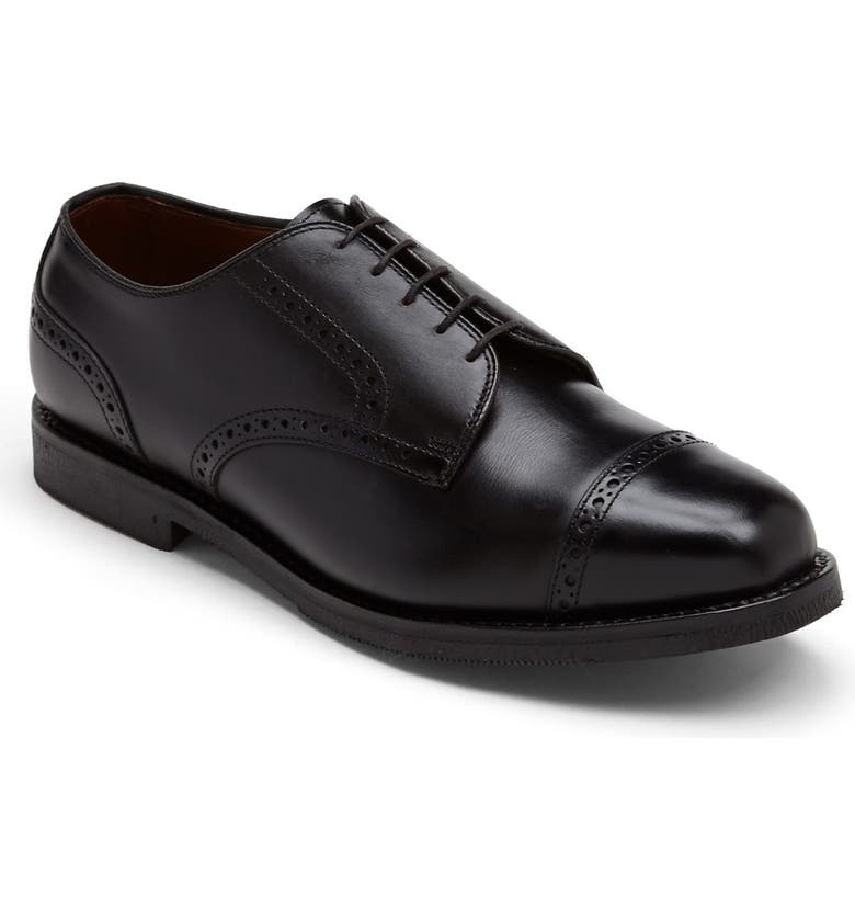 ALLEN EDMONDS Benton Cap Toe Oxford, Main, color, 001