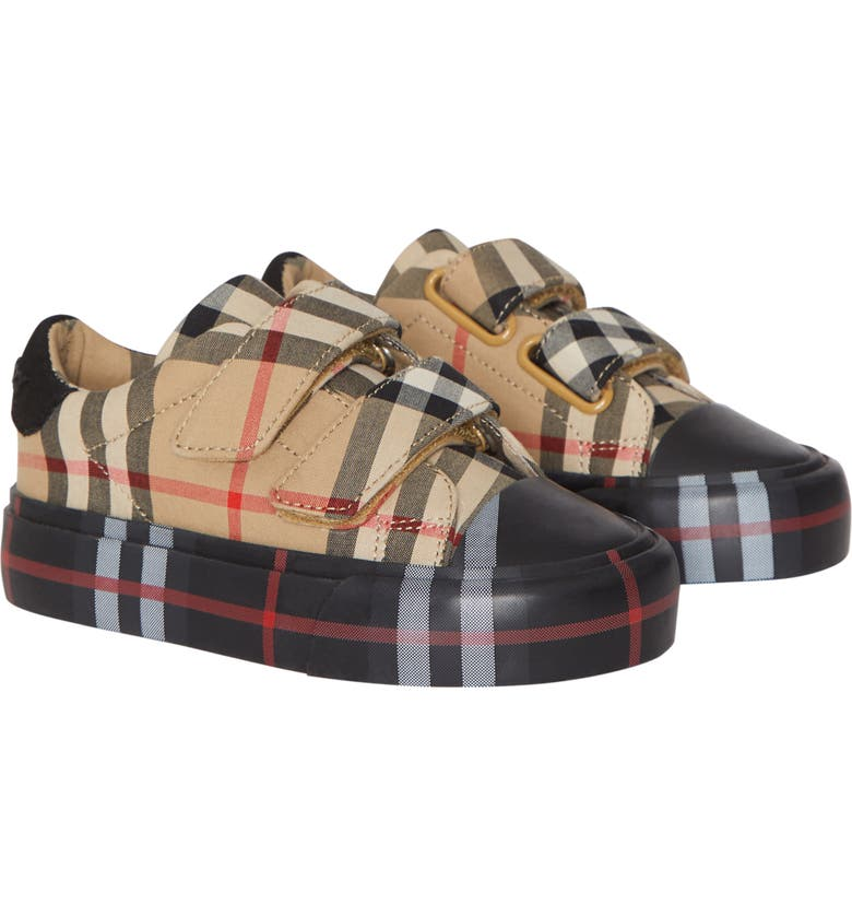 BURBERRY Mini Markham Sneaker, Main, color, 251