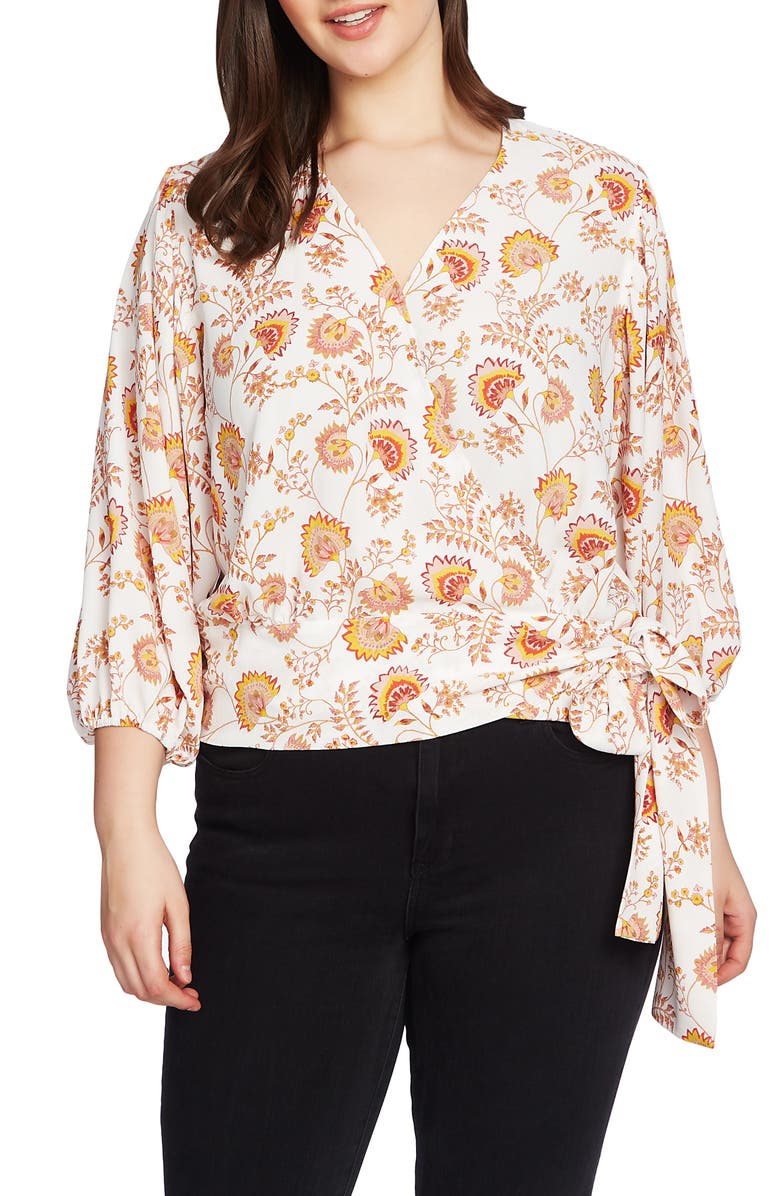1.STATE Garden Leaf Wrap Top, Main, color, 700