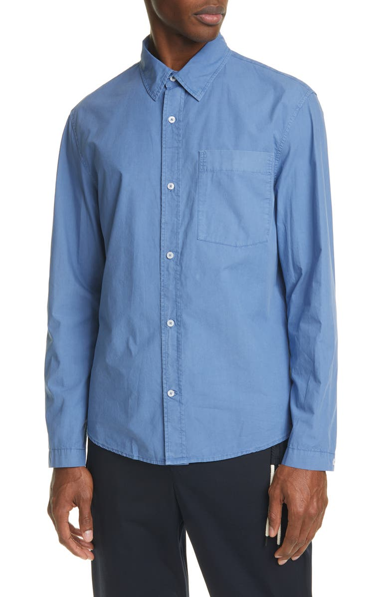 CRAIG GREEN Button-Up Cotton Work Shirt, Main, color, 400