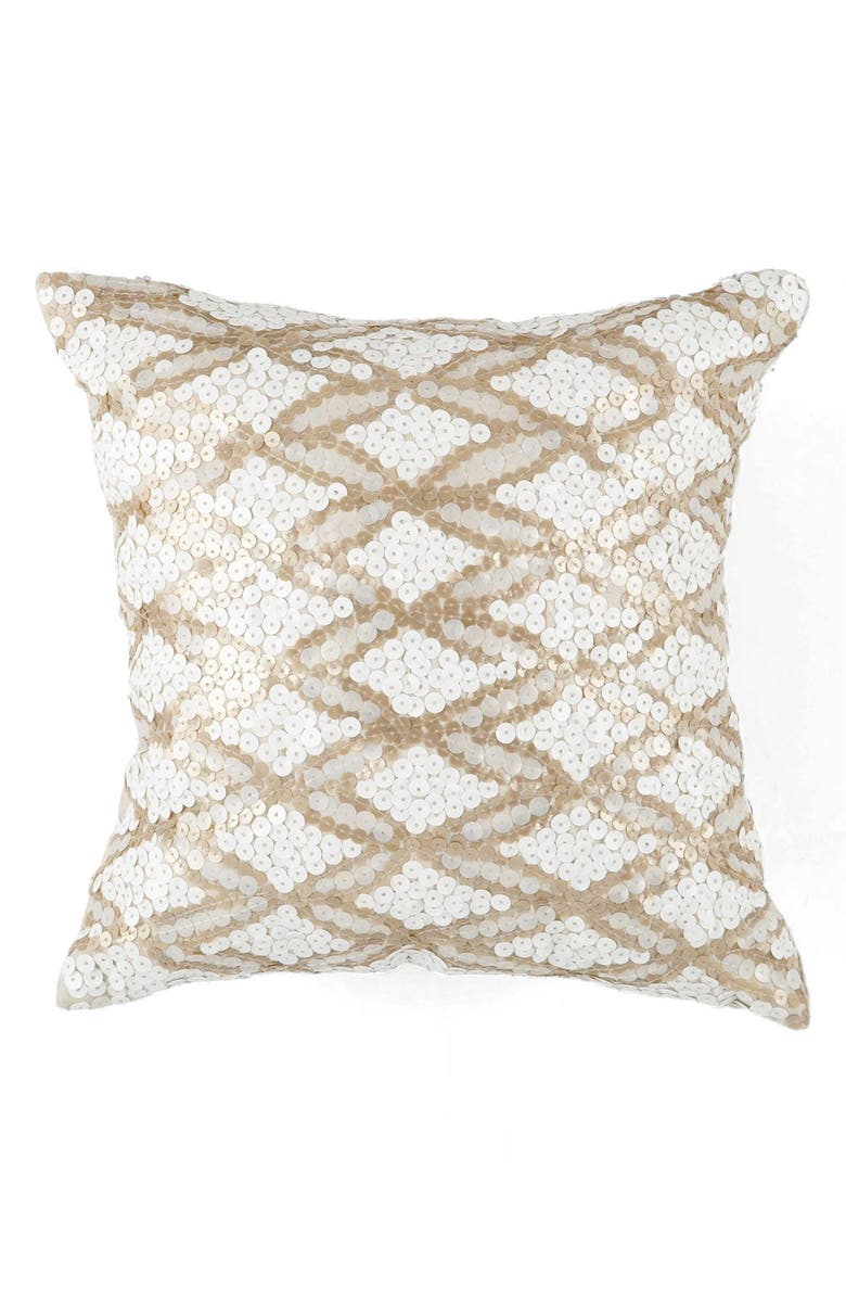 KAS DESIGNS 'Gemma' Pillow, Main, color, 100
