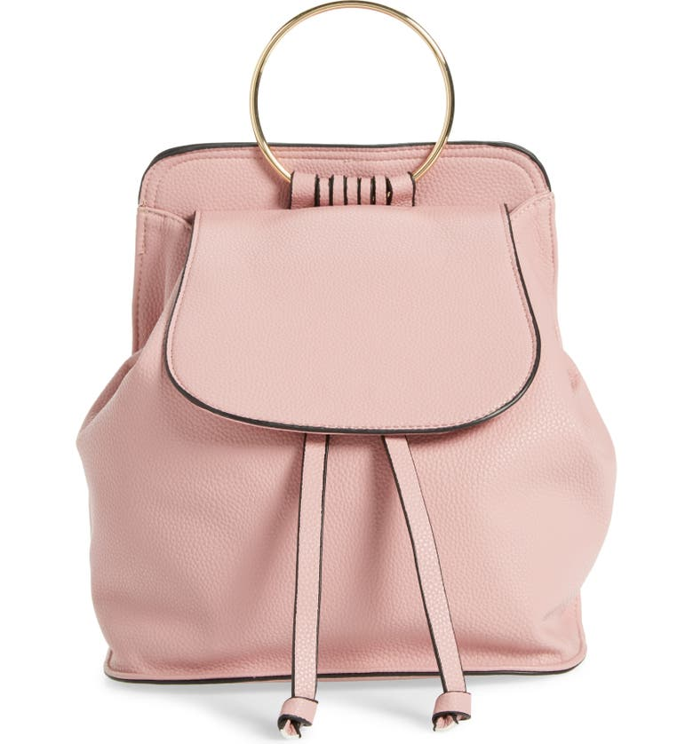 AMICI ACCESSORIES Ring Handle Backpack, Main, color, 650