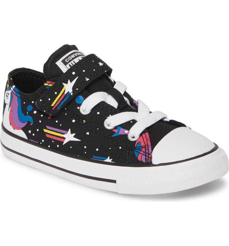 CONVERSE Chuck Taylor<sup>®</sup> All Star<sup>®</sup> 1V Unicorn Star Low Top Sneaker, Main, color, 001