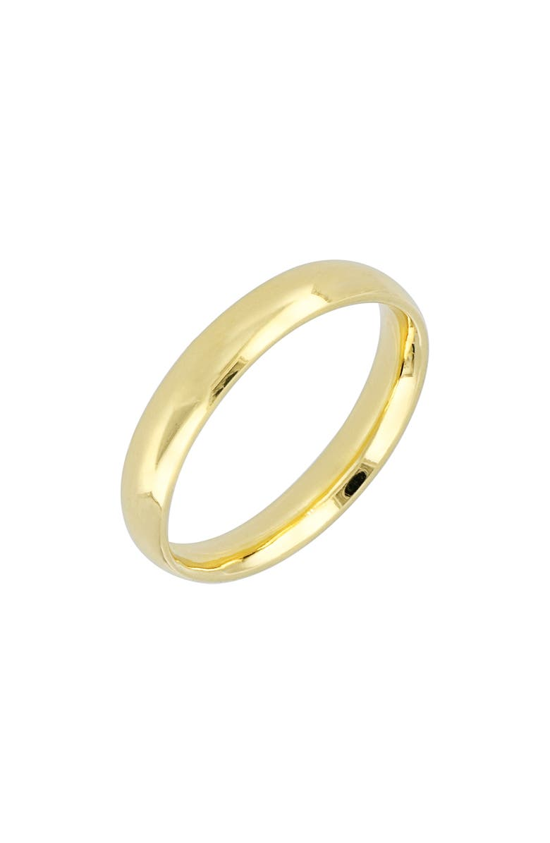 BONY LEVY 14K Gold Wedding Band Ring, 3.8mm, Main, color, YELLOW GOLD