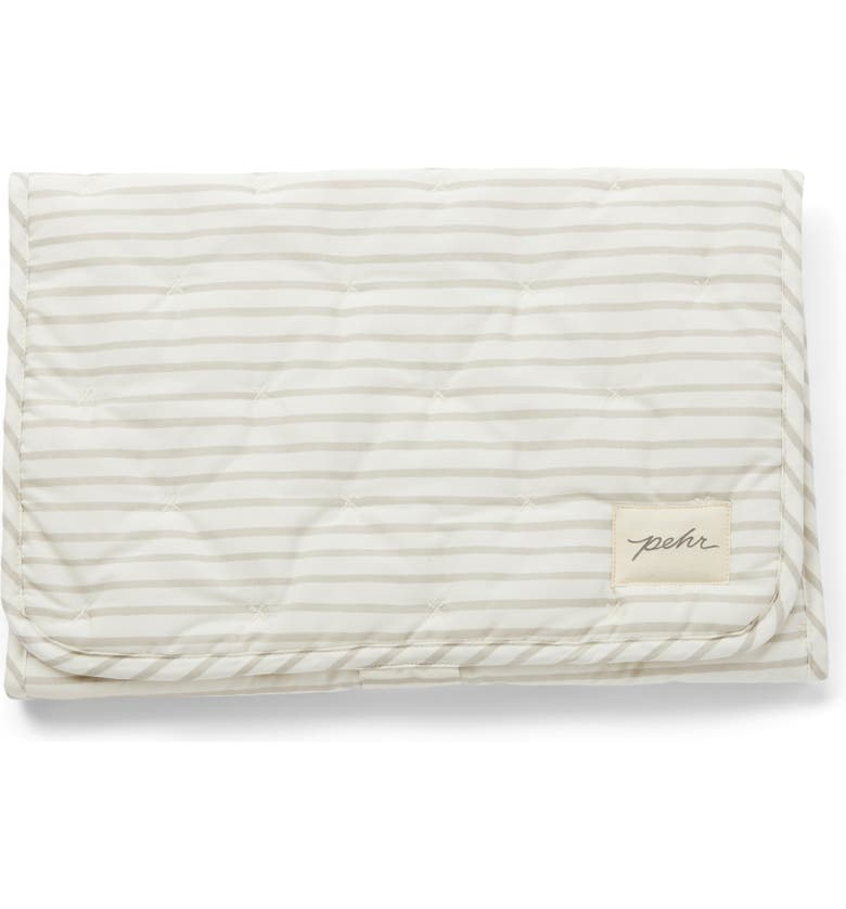 PEHR On the Go Coated Organic Cotton Changing Pad, Main, color, 050
