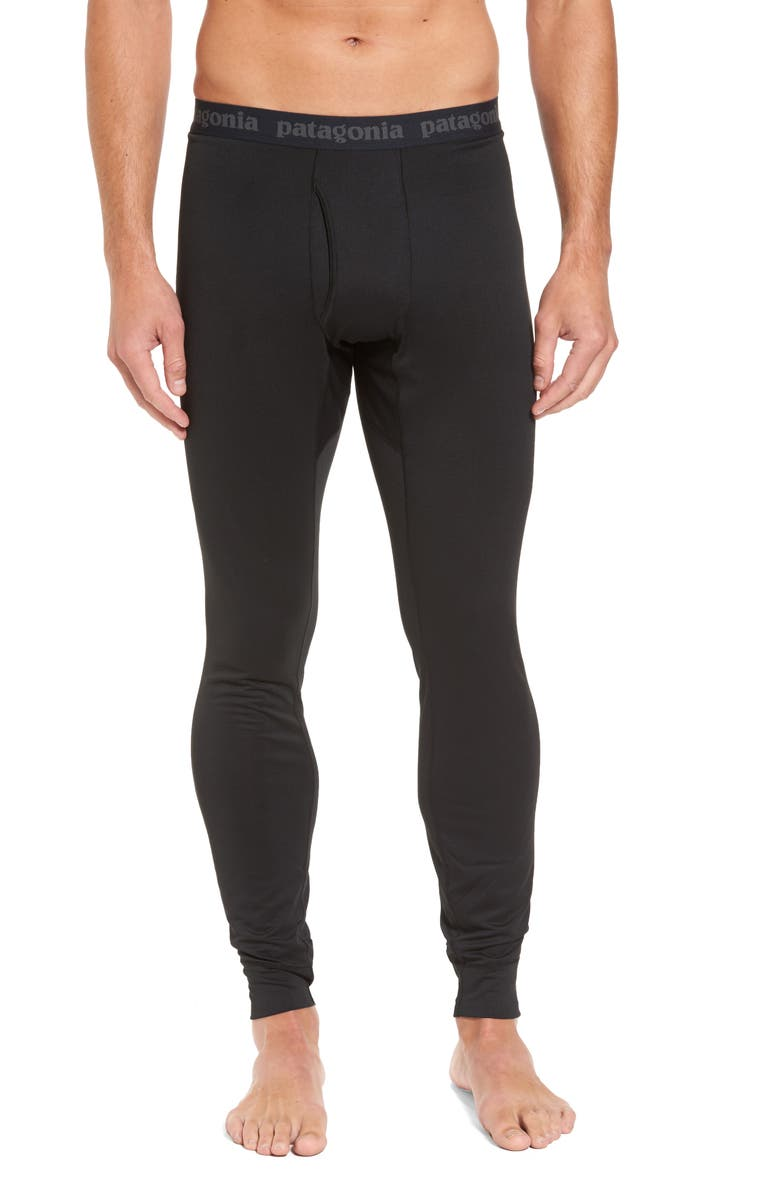 PATAGONIA Capilene Midweight Base Layer Tights, Main, color, 001