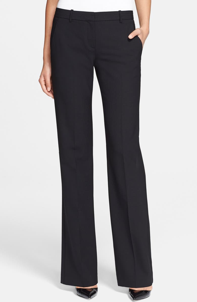 THEORY 'Emery 2' Stretch Pants, Main, color, 001