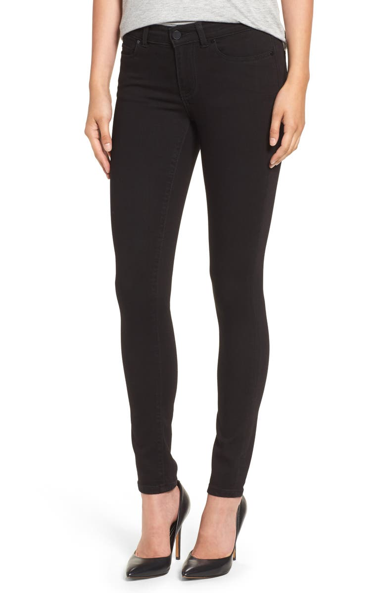 CASLON<SUP>®</SUP> Stretch Skinny Jeans, Main, color, 001