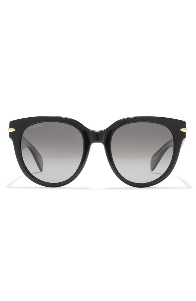 RAG AND BONE 54mm Rounded Sunglasses, Main, color, 0807-WJ