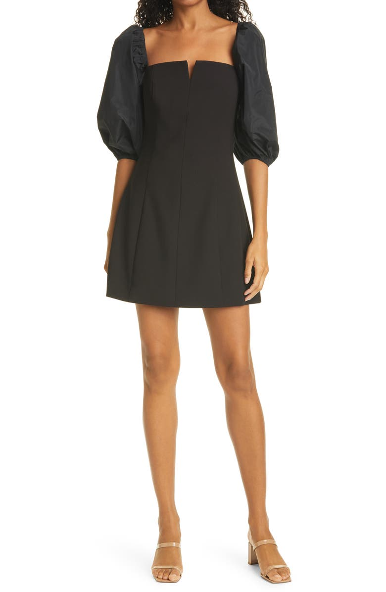 LIKELY Belize Square Neck Minidress, Main, color, ASSORTED