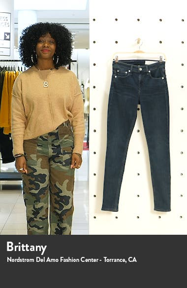 Cate High Waist Skinny Jeans, sales video thumbnail