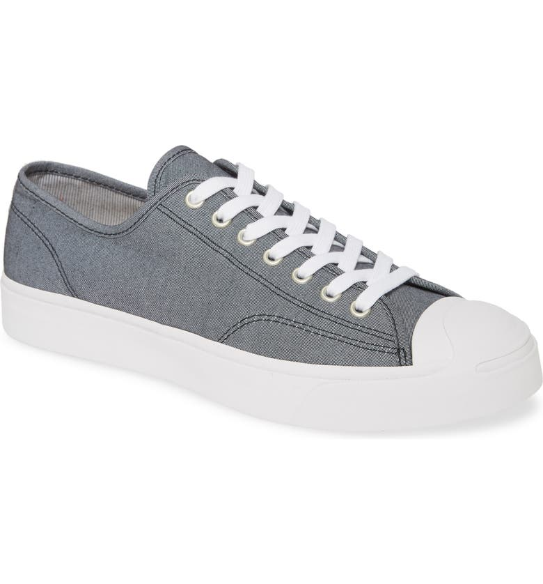 CONVERSE Jack Purcell Gold Standard Sneaker, Main, color, OBSIDIAN/ BROWN