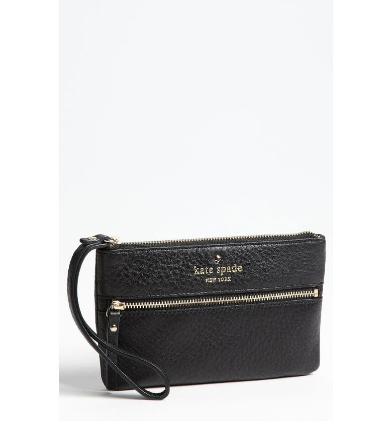 KATE SPADE NEW YORK 'cobble hill - bee' wristlet, Main, color, 001