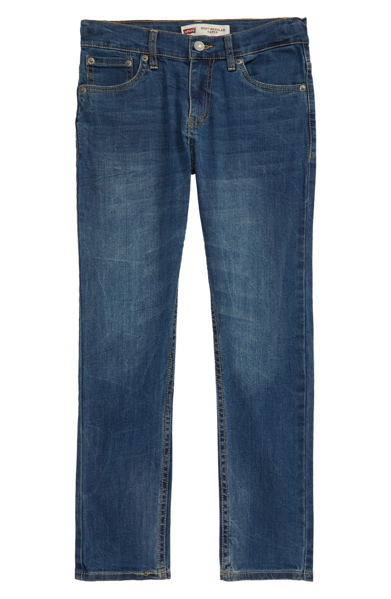LEVI'S<SUP>®</SUP> 502<sup>™</sup> Regular Taper Fit Jeans, Main, color, WASHED UP