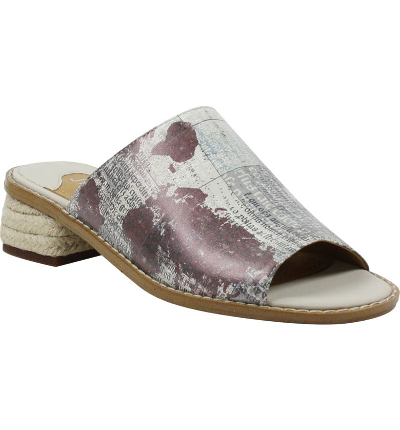 J. RENEÉ Cassio Slide Sandal, Main, color, EARTH TONE MULTI SYNTHETIC