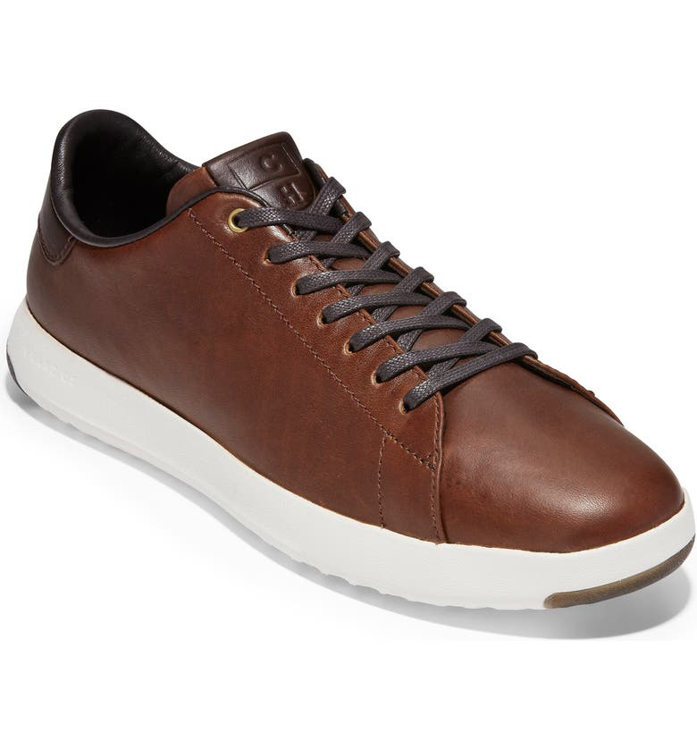 COLE HAAN GrandPro Low Top Sneaker, Main, color, MESQUITE/ COFFEE LEATHER