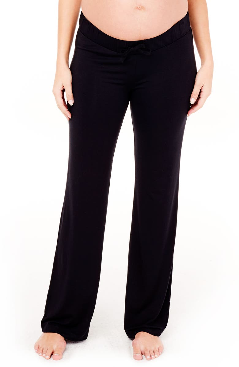 INGRID & ISABEL<SUP>®</SUP> Maternity Lounge Pants, Main, color, 001