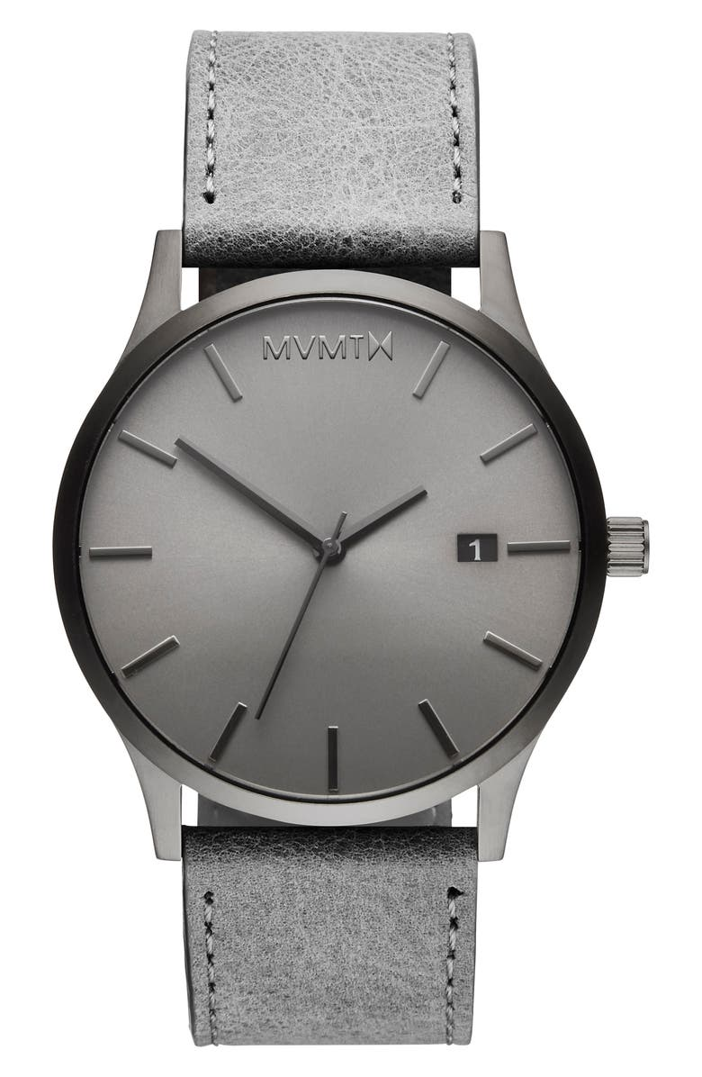 MVMT Classic Watch, 45mm, Main, color, GREY